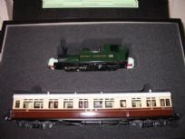 Autocoach and GWR Tank Locomotive Set